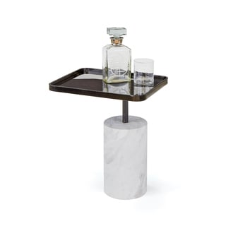 Hip Vintage Black Scarlett Side Table