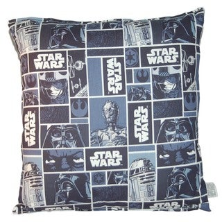 "Lillowz Star Wars Reversible Medium Sized Throw Pillow (14"" x 14"")"