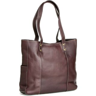 Link to LeDonne Leather Double Strap Rivet Tote Bag Similar Items in Shop By Style