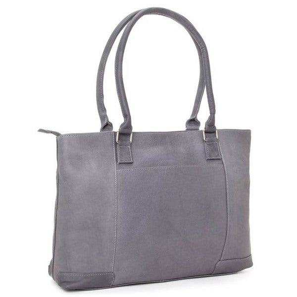 Shop Ledonne Leather Womens 15 4 Inch Laptop Tote Free