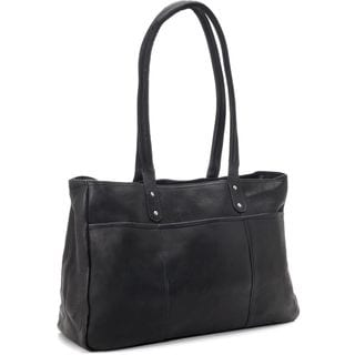 LeDonne Leather Traveler Tote Bag