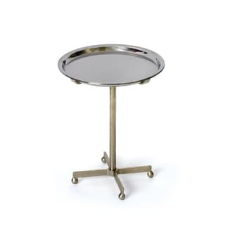 Round Tray Table with Casters