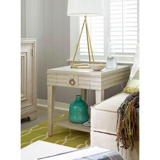 Universal Furniture Malibu Finish California Drawer End Table