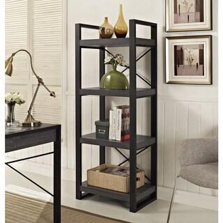 "angelo:HOME 62"" Tall Bookshelf Tower - Charcoal - 24 x 16 x 62h"