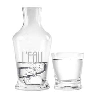 L'eau 2 Piece Carafe Set