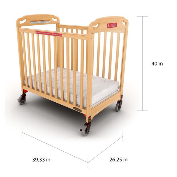 Child Craft Safe Haven Evacuation Compact Baby Crib On Sale Overstock 11651589