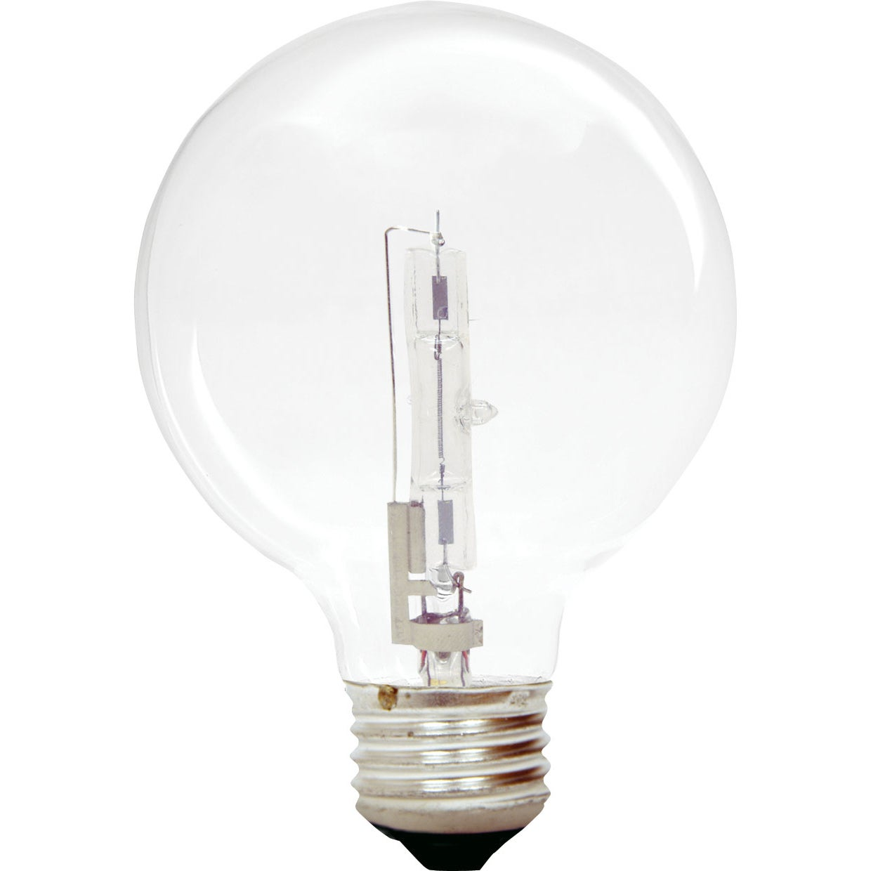 GE Lighting 60076 43 Watt G25 Clear Dimmable Energy Effic...