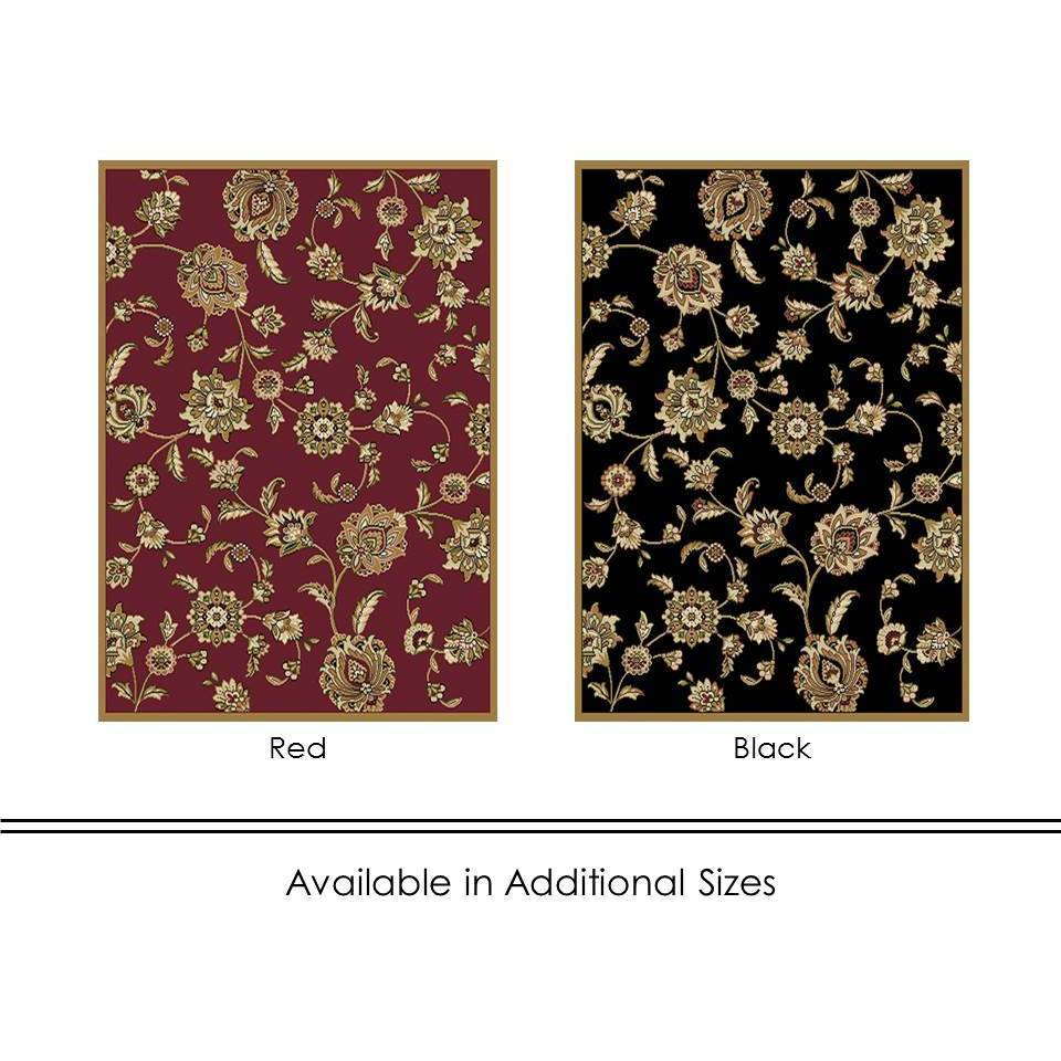 home dynamix optimum collection traditional area rug (7'8 x 10'4