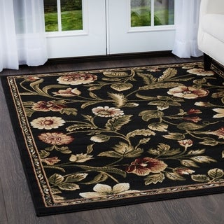 Home Dynamix Optimum Collection Contemporary Beige-Brown Area Rug (7'8 x 10'4)