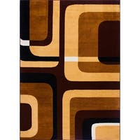 Home Dynamix Premium Collection Contemporary Ebony Area Rug - 7'8 x 10'7