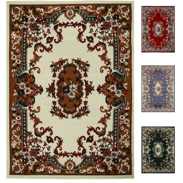 Home Dynamix Premium Collection Traditional Polypropylene Machine Made Area Rug (7'8 x 10'7)