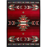 "Home Dynamix Premium Collection Contemporary Black Area Rug - 7'8"" x 10'7"""
