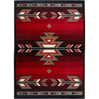 "Home Dynamix Premium Collection Contemporary Black Area Rug - 7'8"" x 10'7"""