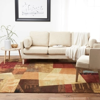 Home Dynamix Catalina Collection Contemporary Multi Area Rug - 5'3 x 7'2