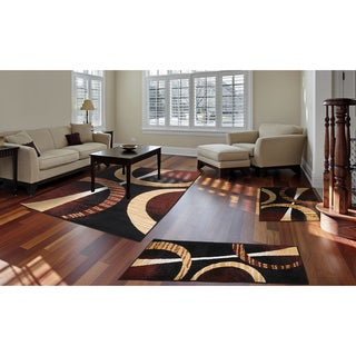 "Home Dynamix Ariana Collection Contemporary 3-Piece Area Rug (4'11""x6'11"", 1'8""x4'11"", 1'8""x2'8"")"