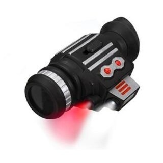 SpyX Power Scope - monocular to spy on the enemy from far away with additional light for the dark - Black