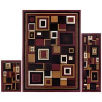 Home Dynamix Ariana Collection Traditional 3-Piece Area Rug - 5' x 7'