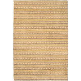Ecarpetgallery Hand-knotted Finest Ziegler Chobi Pink Wool Rug (6'6 x 9'6)
