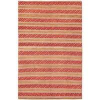 Ecarpetgallery Hand-knotted Finest Ziegler Chobi Pink Wool Rug (5'4 x 8'2)