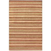 Ecarpetgallery Hand-knotted Finest Ziegler Chobi Pink Wool Rug (5'5 x 8'3)