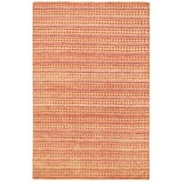 Ecarpetgallery Hand-knotted Finest Ziegler Chobi Brown and Red Wool Rug (5'4 x 8'2)
