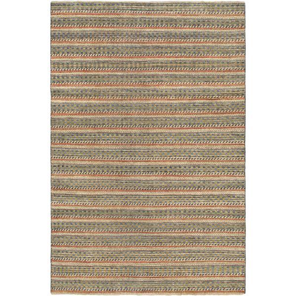 Ecarpetgallery Hand-knotted Finest Ziegler Chobi Green Wool Rug - 5'5 x 8'2