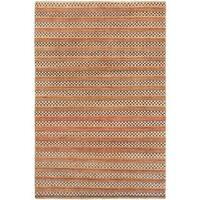 Ecarpetgallery Hand-knotted Finest Ziegler Chobi Beige and Brown Wool Rug (5'4 x 8'1)