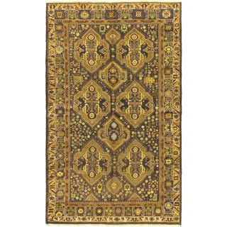 Ecarpetgallery Hand-knotted Royal Balouch Blue Wool Rug (5'9 x 9'5)