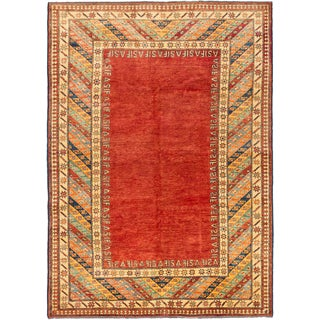 Ecarpetgallery Hand-knotted Finest Gazni Red Wool Rug (6'1 x 8'6)