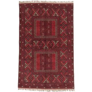 Ecarpetgallery Hand-knotted Finest Khal Mohammadi Red Wool Rug (5'2 x 8'1)