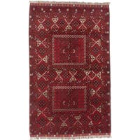 Ecarpetgallery Hand-knotted Finest Khal Mohammadi Red Wool Rug (5'1 x 8'2)