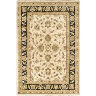 Ecarpetgallery Hand-knotted Sultanabad Beige Wool Rug (6' x 8'10)