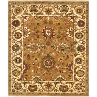 Ecarpetgallery Hand-knotted Jamshidpour Brown Wool Rug (8' x 9'7)