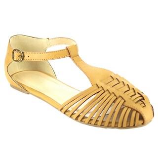 Beston Huarache Flat Sandals