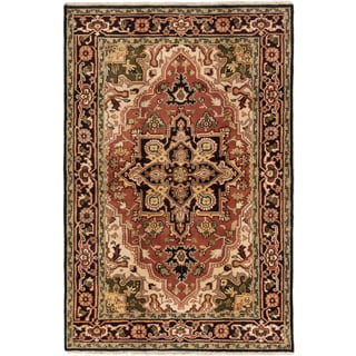 Ecarpetgallery Hand-knotted Royal Heriz Brown Wool Rug (5'10 x 8'10)