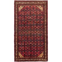 Ecarpetgallery Hand-knotted Persian Hosseinabad Red Wool Rug (5'3 x 9'4)