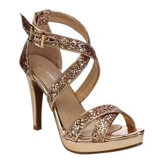 VIA PINKY Glittery High Heels