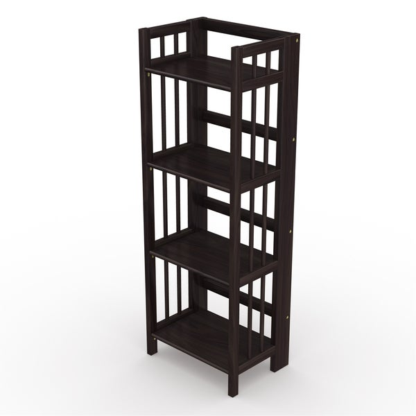 Black 11-1//2 inch Wide 3-Tier Shelf Stand for Display Rack
