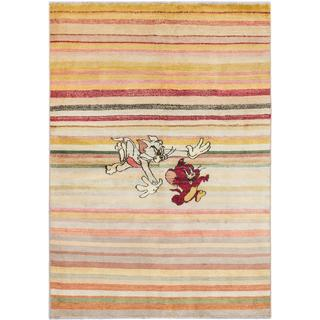 Ecarpetgallery Hand-knotted Peshawar Ziegler Multi Wool Rug (5'8 x 8')