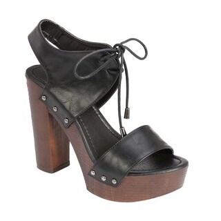 Beston Chunky Heel Platform Sandals