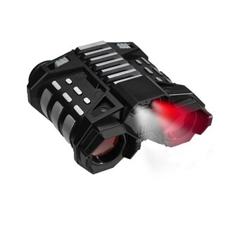SpyX Night Nocs - binoculars from spying from afar, features extra light for seeing in the dark - Black