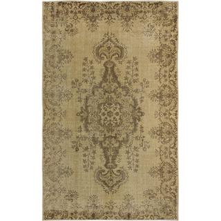 Ecarpetgallery Hand-knotted Anatolian Sunwash Beige Wool Rug (5'8 x 9')