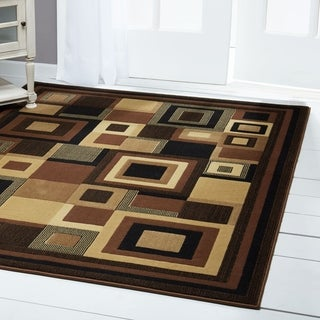 "Home Dynamix Catalina Collection Contemporary Area Rug (3'3"" x 5'2"")"