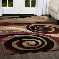 "Home Dynamix Evolution Collection Contemporary Beige Area Rug - 3'3""X4'7"""
