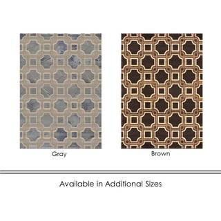 Home Dynamix Fresco Collection Transitional Area Rug (7'10X10'4)