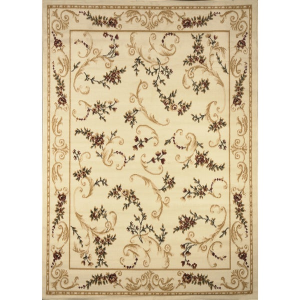 home dynamix optimum collection contemporary beige accent rug 21 x 35 free shipping on. Black Bedroom Furniture Sets. Home Design Ideas