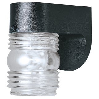 "Westinghouse 6680000 4-1/2"" Black Wall Lantern"