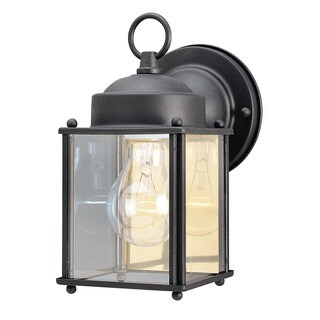 "Westinghouse 6697200 4-1/8"" Black Wall Lantern"