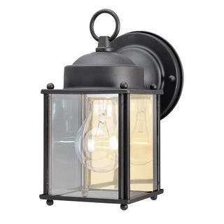Westinghouse outdoor lighting for less overstock westinghouse 6697200 4 18 black wall lantern aloadofball Choice Image