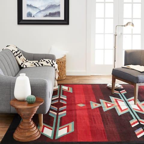 Home Dynamix Premium Collection Contemporary Black Area Rug 7 8